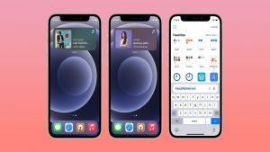 Mobile phone screens